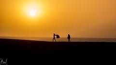 sans titre-75 (alitopics) Tags: sunset sky beautiful casablanca tamaris reflects beach plage water skyporn sun