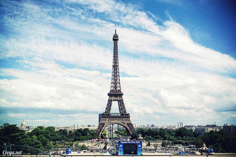 2016.10.09 ▐ 看我的歐行腿▐ 艾菲爾鐵塔,五個視角看法國巴黎市的這仙燈塔 12