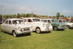Classic British car line-up (andreboeni) Tags: classic car automobile cars automobiles voitures autos automobili classique voiture retro auto oldtimer ford consul austin sheerline standard vanguard a125
