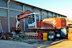 O&K RH20 PMS (riccardo nassisi) Tags: truck camion abbandonato abandoned rust rusty relitto rottame ruggine ruins scrap scrapyard epave cava piacenza san nicol