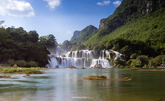 Bangioc waterfall in Caobang, Vietnam (:: Focus Studio ::) Tags: ban bang beautiful beauty blurred cao climate coastline down drop environment exposure extreme falling flowing forest gioc lake landscape lapse long majestic missioners motion mountain moving national natural nature object plant rainforest relaxation river rock speed spraying springtime stone stream summer sunlight terrain thac tropical vietnam water waterfall outdoor