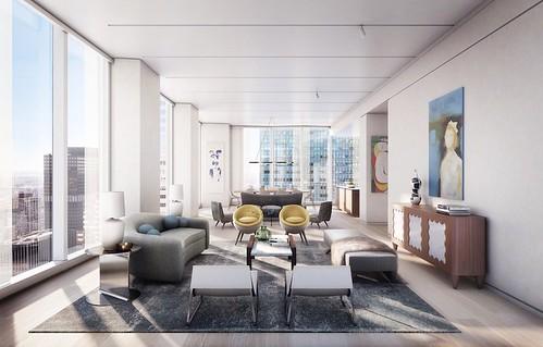 Элитная квартира Джорджа Клуни и Амаль на Манхэттене