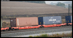 Sdggmrss/- de DB (javier-lopez) Tags: ffcc railway train tren trenes adif mercancas vagn plataforma portacontenedores contenedor contenedores cajasmviles cajamvil sdggmrss db msc mediterraneanshippingco duisburgruhrort barcelonamorrot vilanovadelvalls 26092016