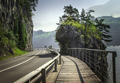 On the way to the Bridge GOMS, Switzerland (oksana_korda) Tags: nature switzerland beautifulplace landscape