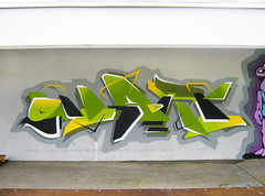 Kaliningrad a.k.a Knigsberg, Russian Federation.October 2016. (Kwant One) Tags: kaliningrad russia belarus minsk kwant quant green travel art graffiti walls