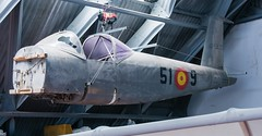 AISA I-11B (Andreu Anguera) Tags: fuselaje aviónbiplaza aviónmilitar lasvespas realaeroclubdelugo aerodromodelasrozas lugo galicia españa andreuanguera