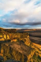Buckstones Sunset Oct 2016 029 (Mark Schofield @ JB Schofield) Tags: pennines pennineway peat rocks buckstones yorkshire huddersfield watershed moors moorland marsden bog england landscape sunset canon 5dmk3 pulehill standedge
