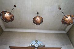 Bourse du Travail (1936), Bordeaux (33) (Yvette Gauthier) Tags: suspension cuivre bordeaux gironde 33 architecture artdco boursedutravail jacquesdwelles salleambroisecroizat salledespectacle