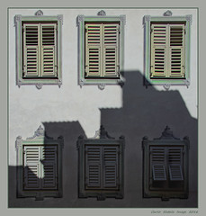 Windows and shadows (cienne45) Tags: windows shadows finestre ombre dolomiti persiane faade blinds windowblinds brunico altoadige onlymyfavorite