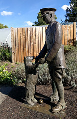 Winnie the Bear, London Zoo (AnthonyR2010) Tags: london nexus5x londonzoo zoo bear winnie winniethebear winniethepooh milne christopherrobin author book statue sculpture billepp pooh manitoba harrycolebourn winnipeg canada