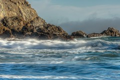 taking things slow at the beach (gwashley) Tags: california monterey bigsur pfeifferbeach longexsposure