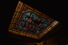Alexandria (Haleem Elsha3rani  ) Tags: alexandria egypt museum beauty art architecture colored glass colors stairs interior building ceiling statue
