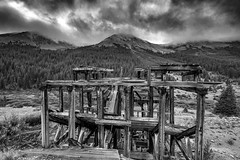 Stamping Mill (bigvern) Tags: bigvern canon 7dii colorado independence mountains minning gold rush historic clouds landscape