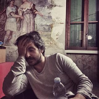 Camerino sobrio per la 117esima di Malabrenta #tournée #teatrobresci #theatrelife #theaterlife
