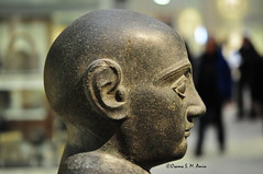 Head of Gudea, Ruler of Ur (Sumer and Akkad!) Tags: gudea uriii ur neosumerian sumer mesopotamia iraq london british museum britishmuseum head lagash girsu