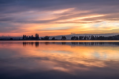 After sunset (Sebo23) Tags: sunset sonnenuntergang bodensee lakekonstanz langzeitbelichtung landschaft gegenlicht lichtstimmung abendlicht abendstimmung reflections reflektionen wolken markelfingen clouds canon6d canon24704l