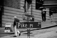 Hanging out at Pikes Place (matthewzumwalt) Tags: bw washington pikeplace seattle blackandwhite