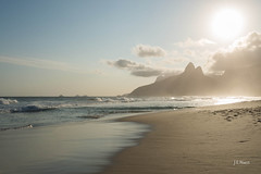 Tropical Paradise - Ipanema beach (Jos Eduardo Nucci) Tags: landscape sunset ipanema beautiful brazil beach atmosphere tropical paradise flickr time photography life joseduardonucci travel world explore nature season spring colors sky clouds sunlight sunny daylight shadows reflections mirror tide water sea seascape wonderfulcity mountains arpoador sunrise backlight fabulous places rio450anos getty solo d800 nikon 28300mm nikkor 1424mm instagram photo image trip happy love peace hope serenity stunning guanabarabay ocean foam waves blessed scenary mood