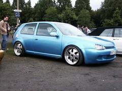 VW Golf 4 (911gt2rs) Tags: treffen meeting show event tuning tief low stance clean mk4 rabbit dub blau blue mae wheels felgen
