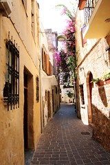 Streets of Chania (valentinerobb) Tags: crete chania summer street canon70d 1116mm