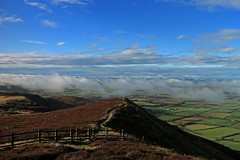 Cringle End (RoystonVasey) Tags: canon eos m 1855mm zoom north yorkshire moors nymnp cringle moor viewpoint low cloud inversion clearing