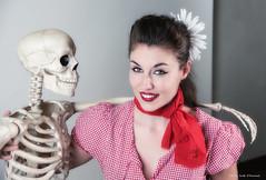 Farmer's Daughter (scottnj) Tags: halloween halloweencostume scottnj skeleton danielle renegadeballerina model models modeling scottodonnellphotography