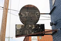 Stop Auto Service (jschumacher) Tags: virginia petersburg petersburgvirginia sign