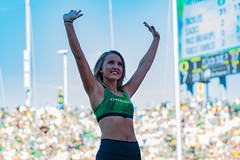Ducks vs Colorado 9-24-2016_5755 (boudreaudavid83) Tags: nikon d500 oregon ducks cheerleaders football autzen statium