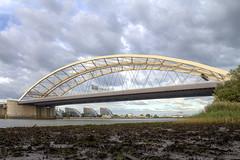 Van Brienenoordbrug (R. Engelsman) Tags: vanbrienenoordbrug brienenoordbrug brug bridge a16 rotterdam netherlands nederland nl architecture hdr rotjeknor