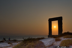 Light is at the end of the tunnel (Clear Of Conflict) Tags: naxos greece grecia atardecer sunset dusk anochecer portara cyclades ccladas landscape seascape summer verano paisaje costa coast nature mar art sea canon 6d 1740 island aegean sunlight inexplore specland