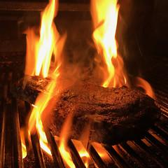 PHAT RIBEYE! (MacroMarcie) Tags: steak ribeye meat grill grilling dinner flame hot food icookedthis cooking gourmet square
