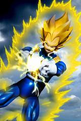 Final Flash (Alemn Mori) Tags: dragon ball z zfighters figuarts bandai anime saiyan saiyajin saga vegeta super final flash resplandor cell dragonballz shfiguarts