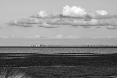 Blackpool (Ged Slaughter Photography) Tags: blackpool landscape bw seascape sea coast gedslaughter tower bigdipper