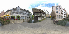 (360x180) Ulm, Germany 6 (Andriy Golovnya (redscorp)) Tags: ulm badenwuerttemberg badenwurttemberg germany fishermansquarter fischerviertel historic landmark architecture building cityscape town city urban panorama equiretangular spherical photosphere 360x180 360 360panorama 360degrees virtualtour tour travel virtualreality vroutside outdors exterior