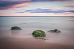 Three of a kind (Chris Noronha) Tags: 2016 chrisnoronha d90 october rougepark fall nikon longexposure rocks sky colour green silk seascape