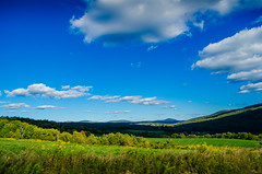 Rolling Catskill Hills (jamesgriffithsphotography) Tags: beaty beatiful blue clouds catskill catskills