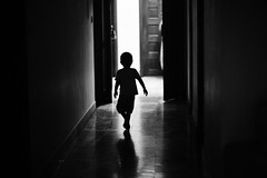 My favourite mini silhouette (N A Y E E M) Tags: umar kalam son silhouette friday afternoon corridor home rabiarahmanlane chittagong bangladesh availablelight indoors light lulu
