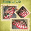 Joaninha da sorte (Atelier da Piccollina) Tags: flores patchwork jogo joaninha americano trevo jogoamericano patchcolagem patchaplique
