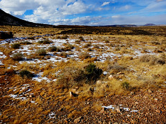 Melt Away Snow, Melt Away! (TheJudge310) Tags: arizona usa snow landscape unitedstates canonpowershots100