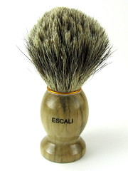 Escali Badger Hair Shaving Brush (fordsbasement) Tags: brush shaving badger