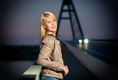 Annie (dubdream) Tags: portrait people woman girl beauty fashion female germany nikon outdoor flash schleswigholstein fehmarnsund beautifulgirl d800 colorimage fehmarnsundbrcke strobistinfo dubdream