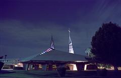 A Subtle Star Trail (Radical Retinoscopy) Tags: nightphotography blue arizona film phoenix analog star minolta kodak az franklloydwright astrophotography astronomy nightsky tungsten minoltasrt101 startrails astrophoto startrail minoltasrt northphoenix portra100t nikoncoolscanv