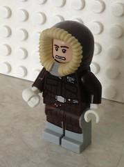 Lego Han Solo Hoth (Johnny-boi) Tags: brown snow cold set star lego coat luke solo wars build exclusive han parka hoth skywalker minifigure taun miinifig