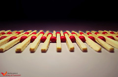 Matchstick Pattern (Siraj Ul Hassan) Tags: red pattern repetition thumbsup matchstick digitalphotography siraj twothumbsup myexpressions 15challengeswinner thechallengefactory fotocompetition fotocompetitionbronze agcgsweepchallengewinner agcgsweepwinner transcendingwinner sirajulhassan matchstickpattern