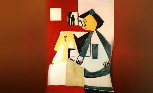 """Meninas, iconósfera de Diego Velazquez (1656), estudio de Francisco de Goya y Lucientes (1778), paráfrasis y versiones Pablo Picasso (1957). • <a style=""""font-size:0.8em;"""" href=""""http://www.flickr.com/photos/30735181@N00/8746860599/"""" target=""""_blank"""">View on Flickr</a>"""