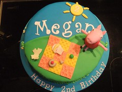 Peppa Pig Cake (Victorious_Sponge) Tags: birthday girls cake pig peppa