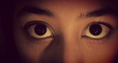 1 (shereenshafi) Tags: light shadow brown macro eye eyes shadows lashes eyelashes eyelash eyebrows lash