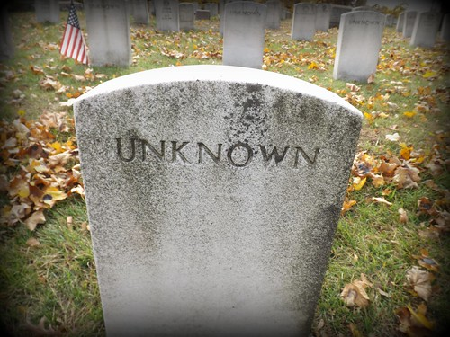 Woodmere Cemetery: Headstones of Unknowns--Detroit MI