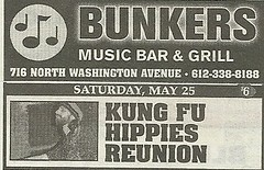 05/25/13 Kung Fu Hippies @ Bunker's, Minneapolis, MN (NYCDreamin) Tags: bunkers minneapolismn kungfuhippies 052513