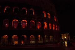 Colosseum Night (Elizabeth Kate Switaj) Tags: winter italy rome night dark lights ruins italia roman colosseum coliseum february 2012